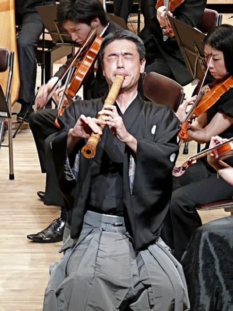 Shakuhachi Master Player