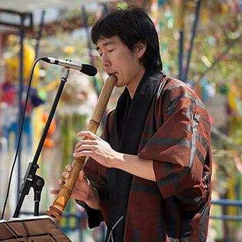 Shakuhachi Performer