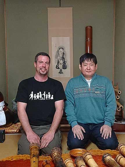 Gyokusui Shakuhachi maker