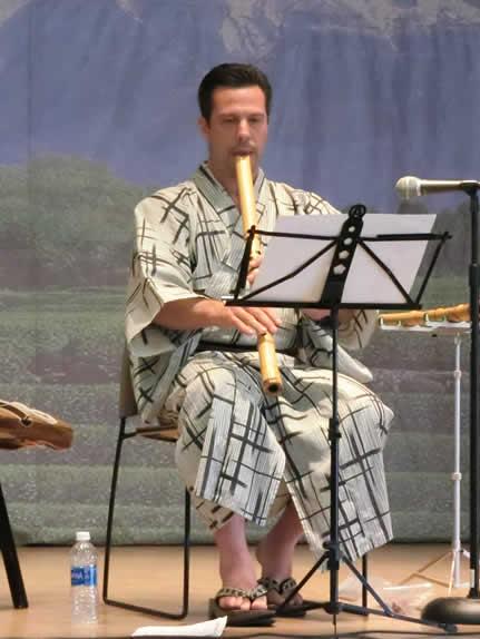 Shakuhachi Performance in Torrance Ca