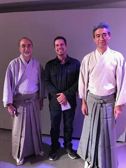 Kakizakai and Matama Sensei